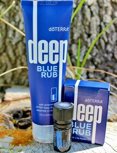 I always hated that really sore feeling I get one to two days after a good, hard workout.  It's such a bittersweet thing.  I started using doTERRA's Deep Blue Rub recently and after rub…