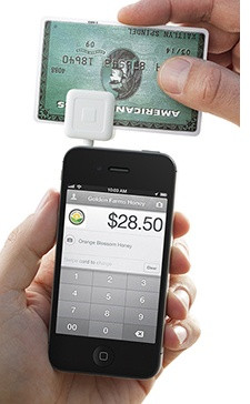 Square Reader: Mobile Payment App allows user to collect funds on the spot anytime anywhere. Can use with iPad, iPhone and Android