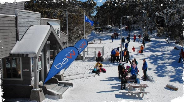 Mount Baw Baw Alpine Resort in Victoria. The closest ski resort to Melbourne #snowaus