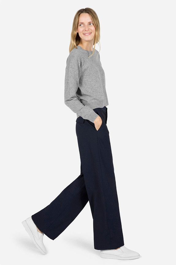 The Pool | Fashion - How to wear wide leg trousers