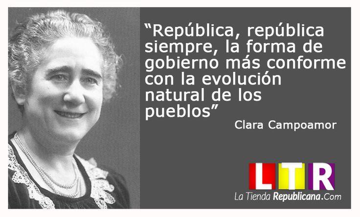 Clara Campoamor. www.latiendarepublicana.com