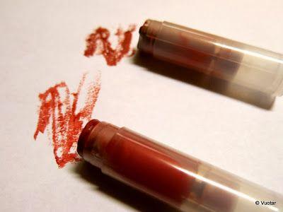 Huulipunakokeilu - lipstick testbatch