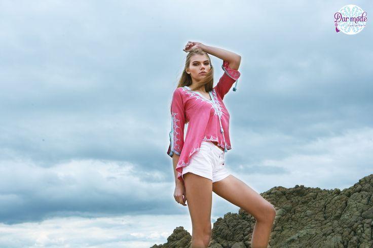 Tunic Amal・Salt in the air Sand in my hair lookbook