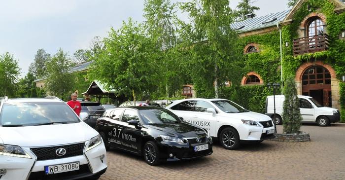 Konferencja najnowszej serii samochodów marki Lexus w Manor House.