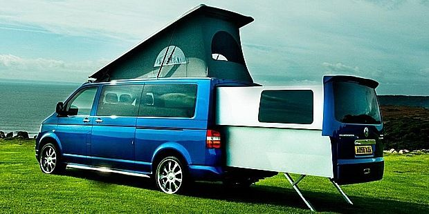 TGR Gear Reviews: Volkswagen DoubleBack Sliding Extension Van Review    OMG want this for camping at fair!