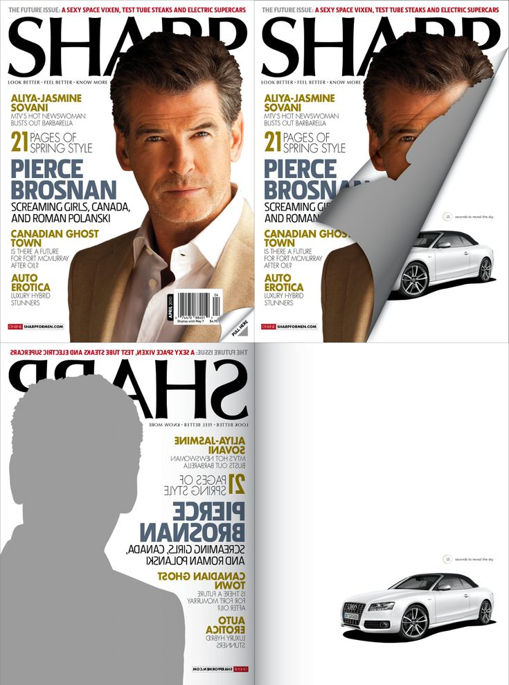 Sharp Gets Creative For Advertiser With Plastic Cover   Masthead Online News