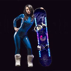 Exclusive LED Snowboard Kit. Show your true colors on the snowboard in the slopes this winter.