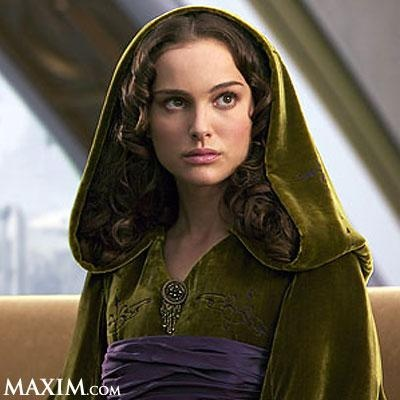 Natalie Portman - Star Wars  Love the colours