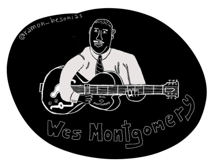 #Efemérides Wes Montgomery nació un 6 de marzo de 1923. Guitarrista prodigioso; aunque lo hayas oído una sola vez, es difícil no reconocer su estilo, la forma en la que se deja caer sobre las cuerdas. Os lo recomiendo si no lo habéis escuchado aún. Un placer.