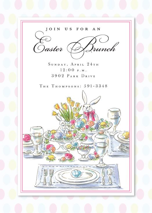 Most Design Ideas Easter Dinner Invitation Wording Pictures And