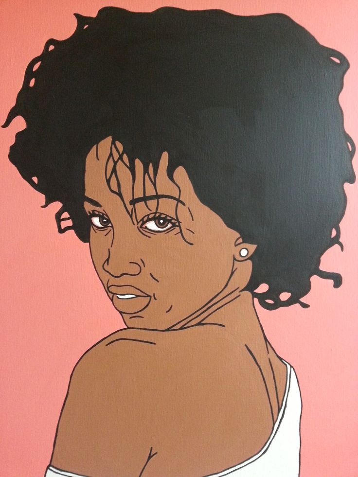 1000 images about black women art on pinterest posts for Tumblr painting art