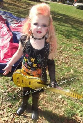 Coolest Rockstar Girl Costume Halloween Costumes For