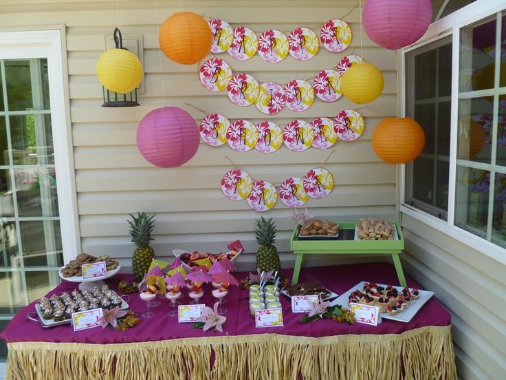 Hawaiian Baby Shower Invitations as perfect invitation template