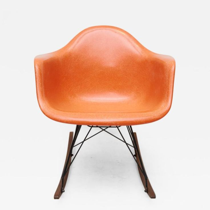 Charles Ray Eames Early Charles Eames Rocking Chair for Herman Miller