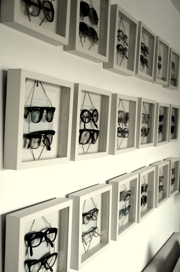Eyewear is notoriously difficult to display well--good solution?