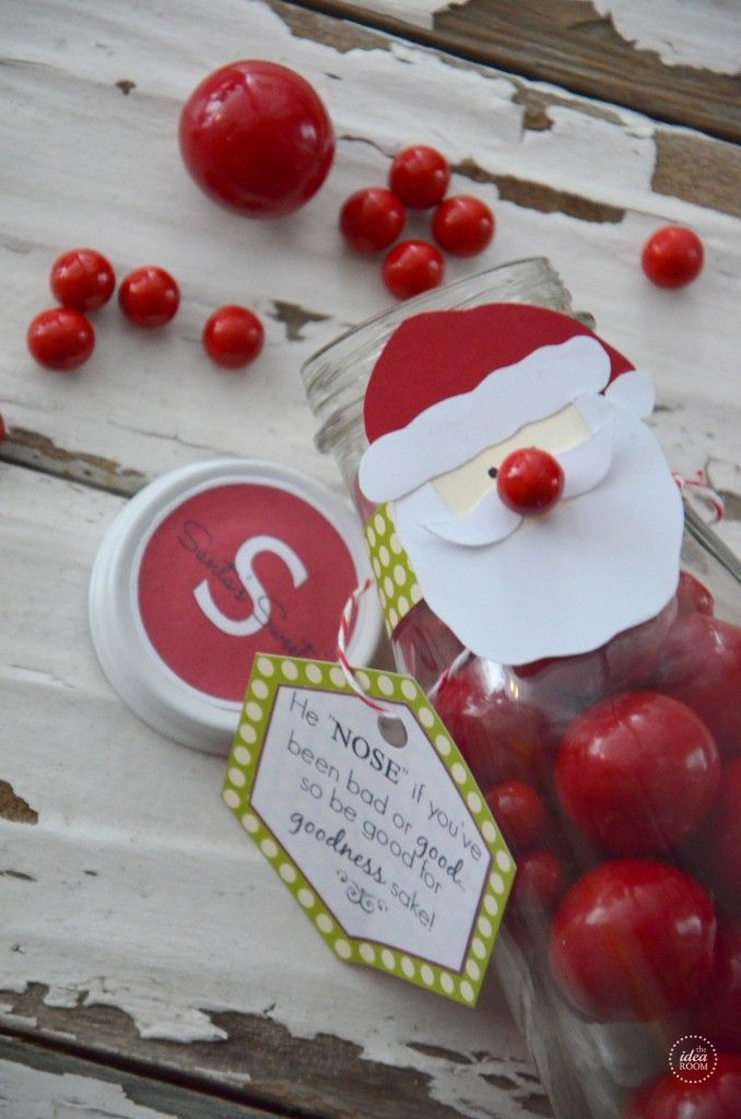 Christmas Candy Gift- adorable from the Idea Room
