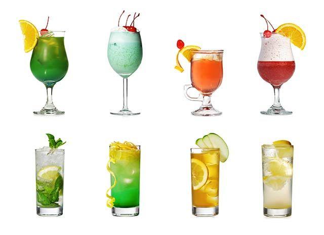 Popular Mixed Drinks -Top 12