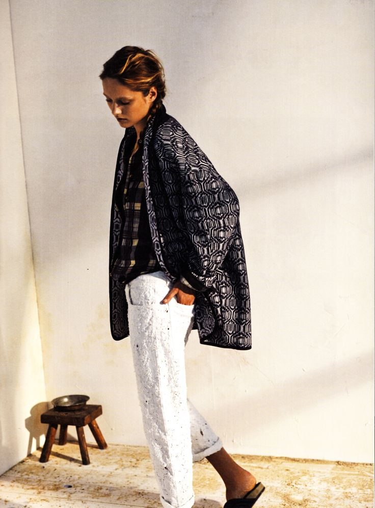 Isabel Marant Etoile Spring/Summer 2014 EBBA coat + VIANE shirt + MADDY pants