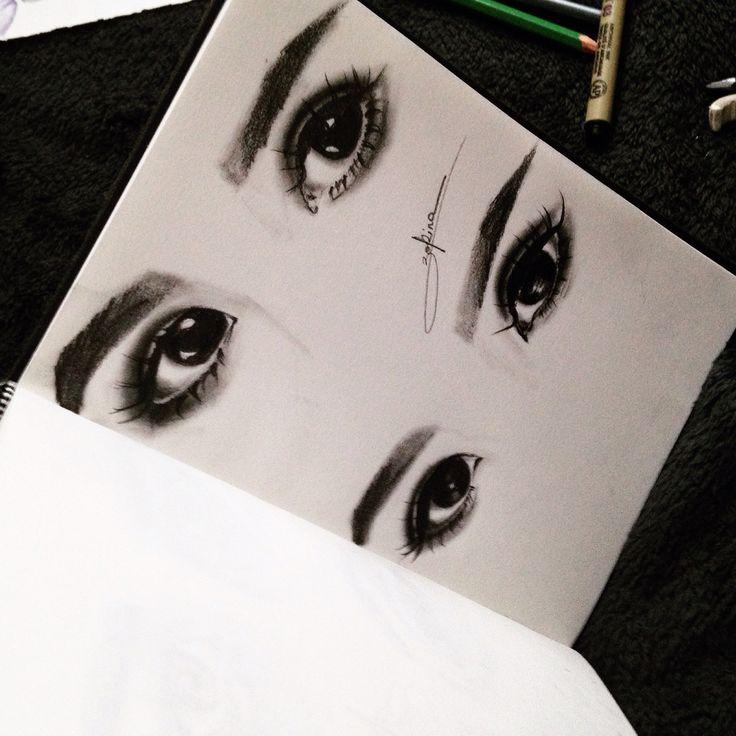 Eyes, graphic , illustration , drawing , tutorial, art, artist, inspiration