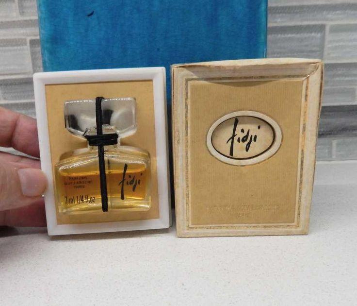 Fidji Perfume Guy Laroche Boxes Sealed 1/4 oz 7ml by gypsytejas on Etsy