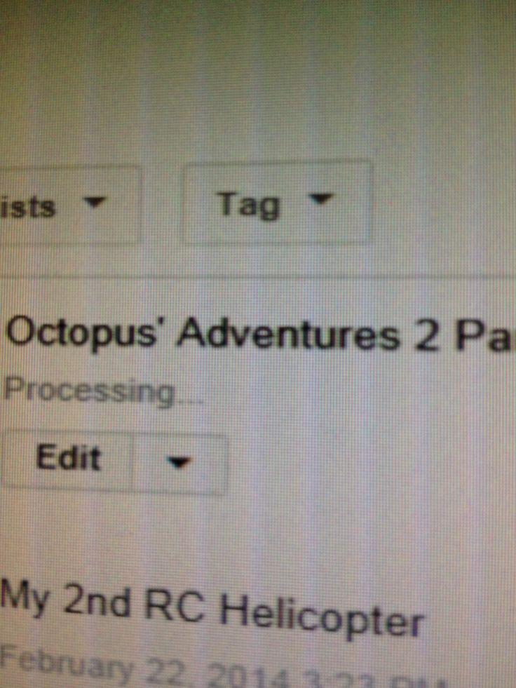 Octopus 2 is on YouTube! Go watch it!