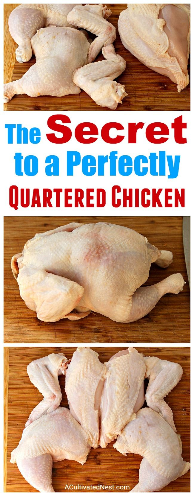 rter a whole chicken at home. And it only takes 5 minutes! Check out my easy tutorial! #frugalLiving #chicken #meat #saveMoney