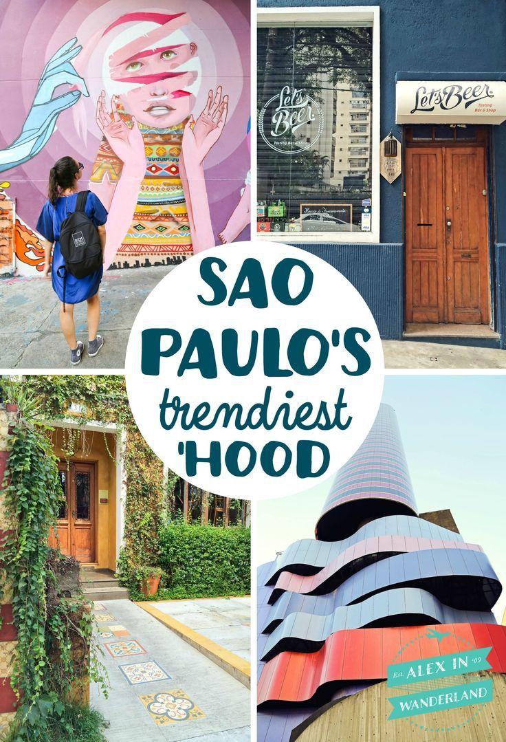 Vila Mariana, the cutest, trendiest neighborhood in Sao Paulo, Brazil! Bookmark it for your trip!!