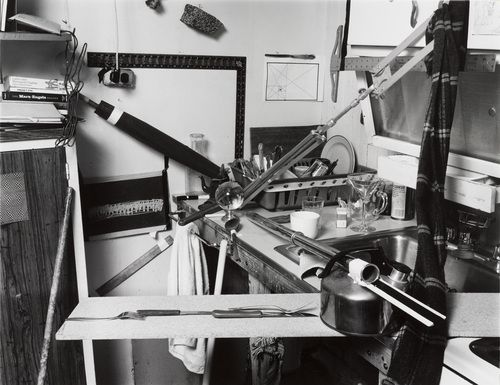 Zeke Berman. Domestic Still Life, Art and Entropy. 1979