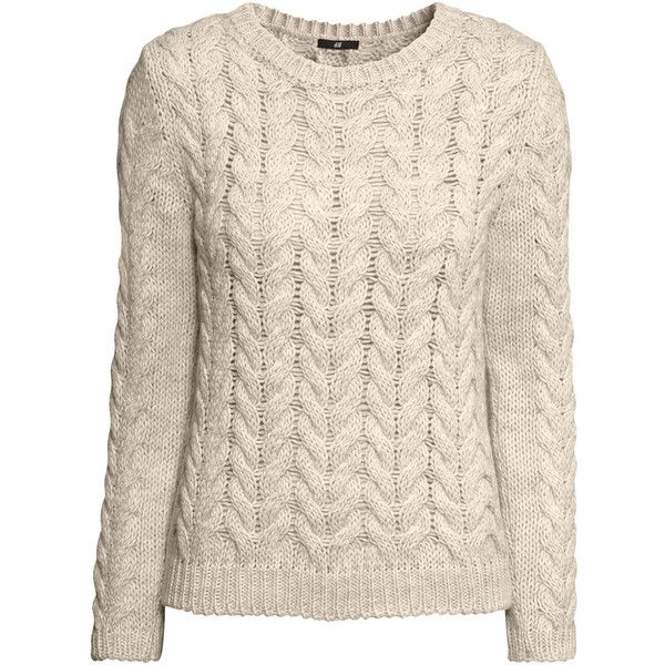 H&M Cable-knit jumper and other apparel, accessories and trends. Browse and shop 8 related looks.