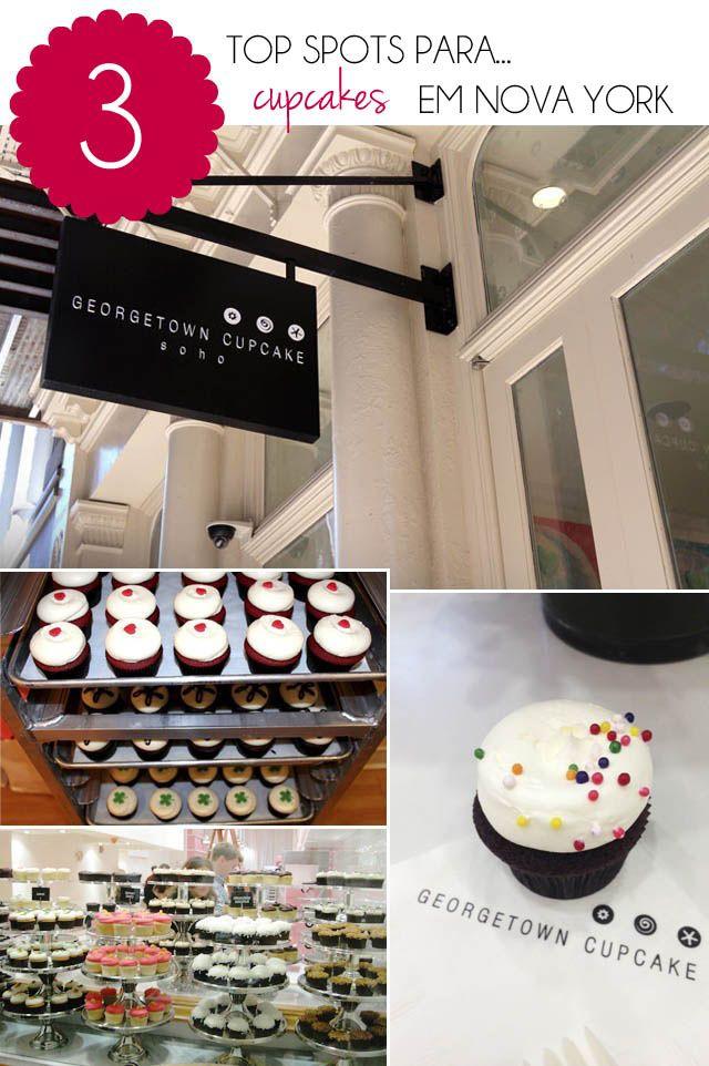 Top 3 Cupcakes Shops em NY!
