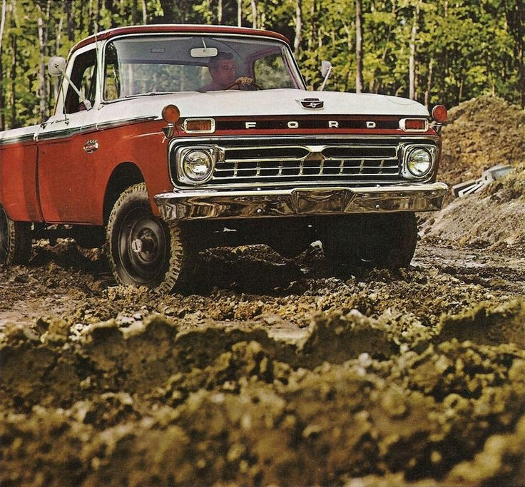 1966 Ford F-100 my dad had one when I was little i miss that truck