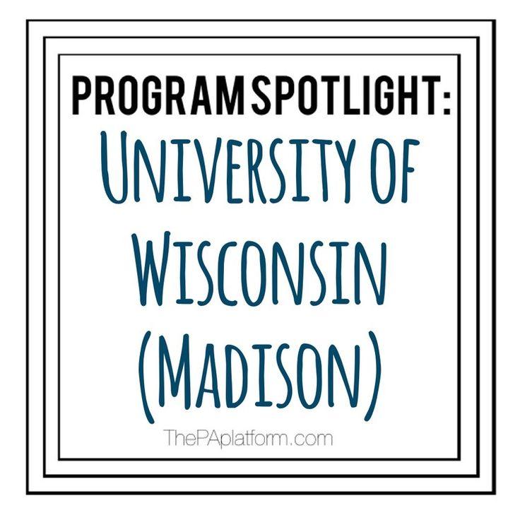 The PA Platform: Program Spotlight - University of Wisconsin (Madison)