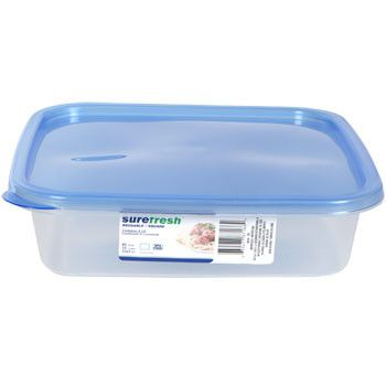 Sure Fresh Large Reusable Plastic Container with Lid