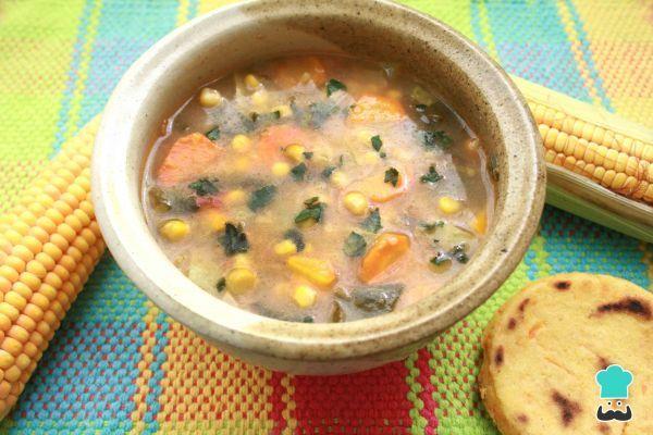 Receta de Sopa de avena para cenar - ¡Muy sabrosa y económica! #RecetasGratis #Recetas #RecetasFáciles #Cena #CenaLigera #Dinner