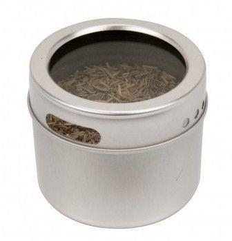 Porta Condimento Tempero Inox Magnético - Imã http://www.utifacil.com.br/porta-condimento-tempero-inox-magnetico-ima