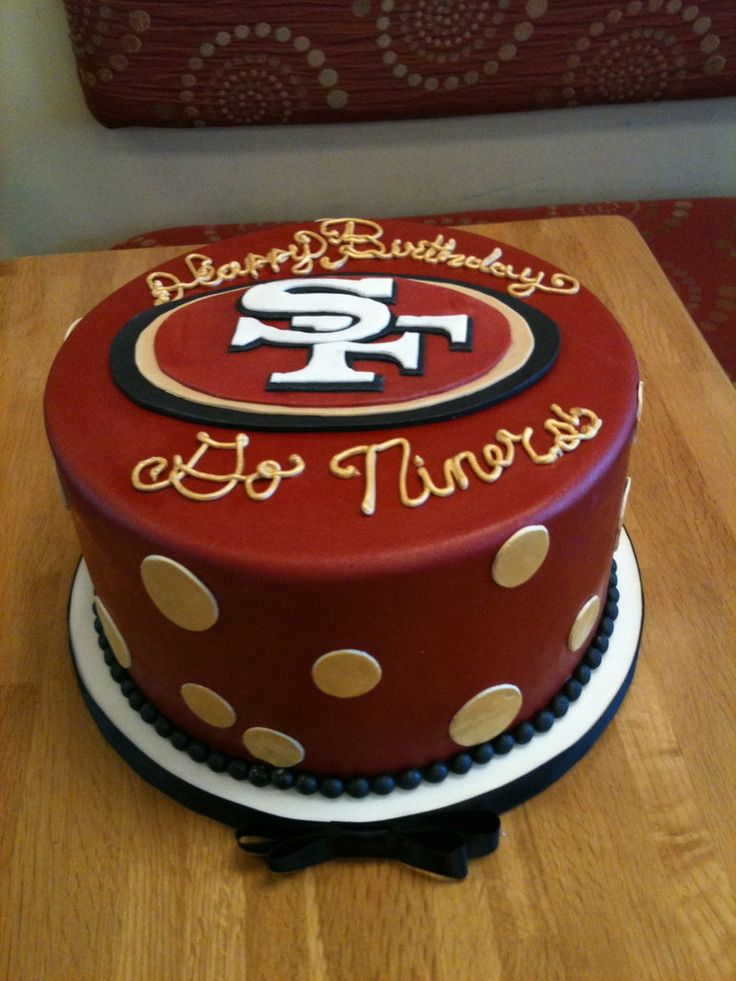 Niners Cake by Spudnuts on DeviantArt