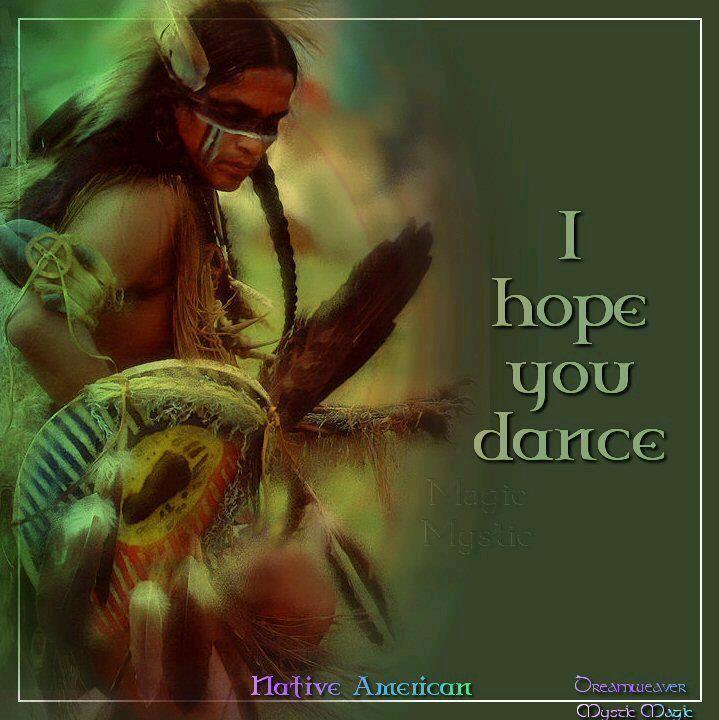 I hope you dance.