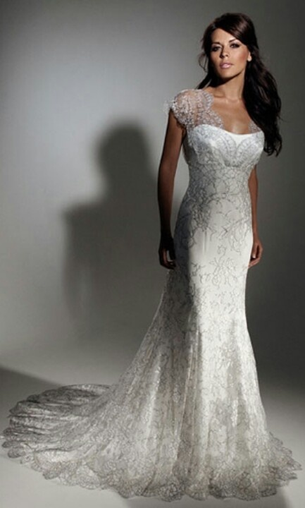 Celebrity Wedding Dresses Ireland : Wedding dresses designer winter weddings bride
