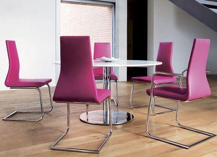 Flow Стул от Tononitalia, Италия # 921.01 Стул, 49x57x101h см. Коллекция: steel & cantilever chairs. Модель: Flow 921. Материал: металл/ткань http://kievimport.com/tononitalia_flow_stul.html #chair #furniture #design #interior #стул #мебель #дизайн #интерьер #kievimport