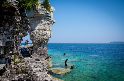 Bruce Peninsula National Park - Grotto