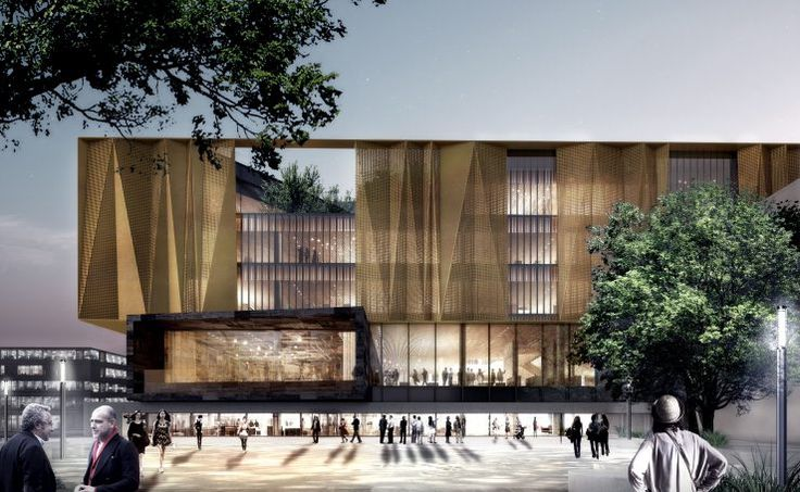Christchurch new central library concept design completed for Architectus chch
