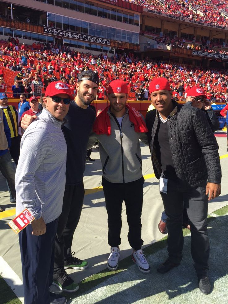Thanks to the @chiefs for giving us the #Royal treatment today. #TakeTheCrown