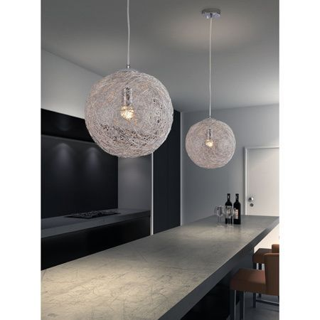 14 best lighting fixtures images on pinterest ceiling lamps opulence aluminum wire wrapped ceiling lamp overstock shopping great deals on zuo chandeliers pendants keyboard keysfo Gallery