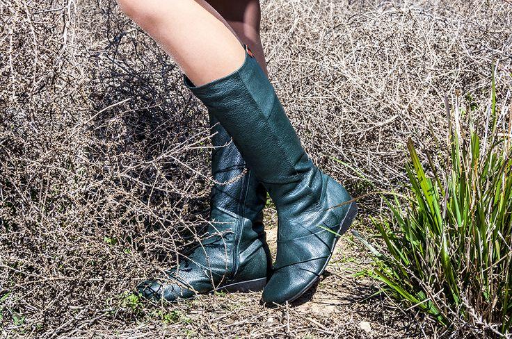 lookbook invierno 2016 - RAY MUSGO Zapatos ecologicos de mujer #green #verde #modasostenible #ecológico