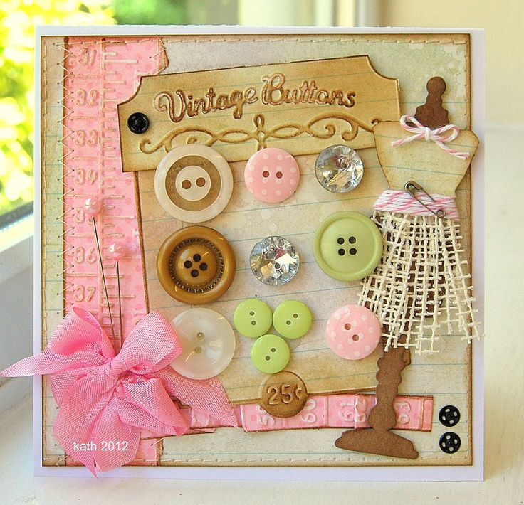 Kath's Blog......diary of the everyday life of a crafter: Ribbon Girl Colour Challenge #23
