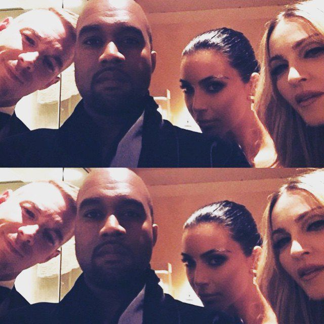 Pin for Later: Celebrity Instagrams Are Your Ticket Inside the Met Gala Diplo, Kanye West, Kim Kardashian, and Madonna