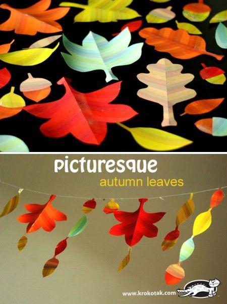 Picturesque Autumn Leaves (krokotak)