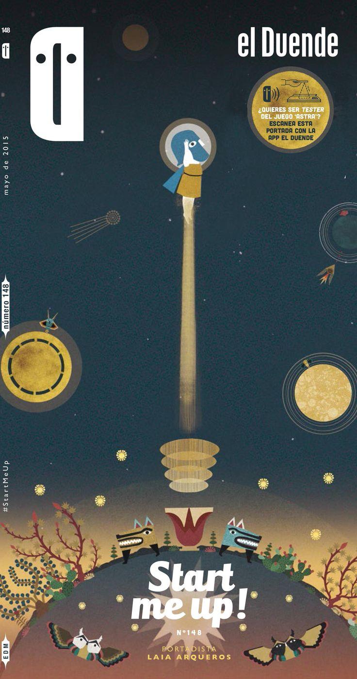 Astrå cover for Revista El Duende from Madrid.