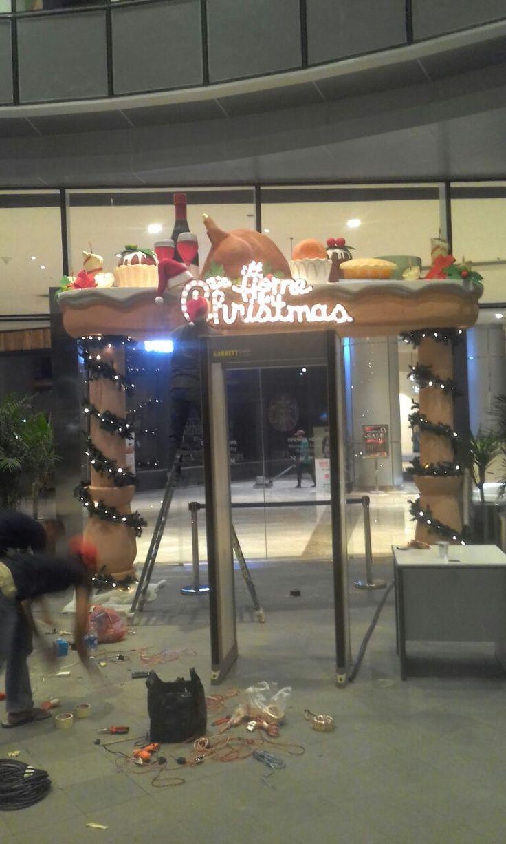 dekorasi Gate styrofoam murah 085100463227 gate natal;,imlek,tahun baru  https://partisipameran2.wordpress.com