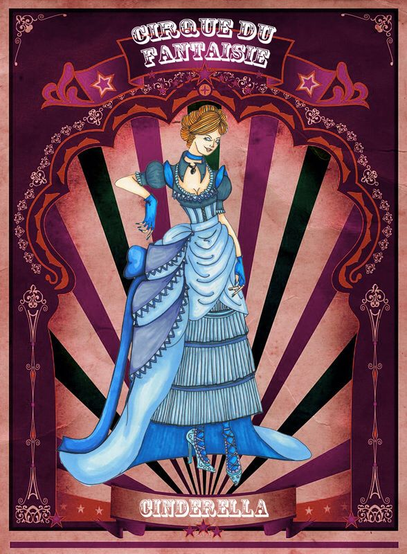 Cinderella by Louise's Designs (c) 2015
